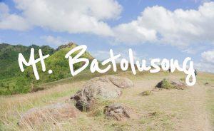 Mt. Batolusong, Rizal