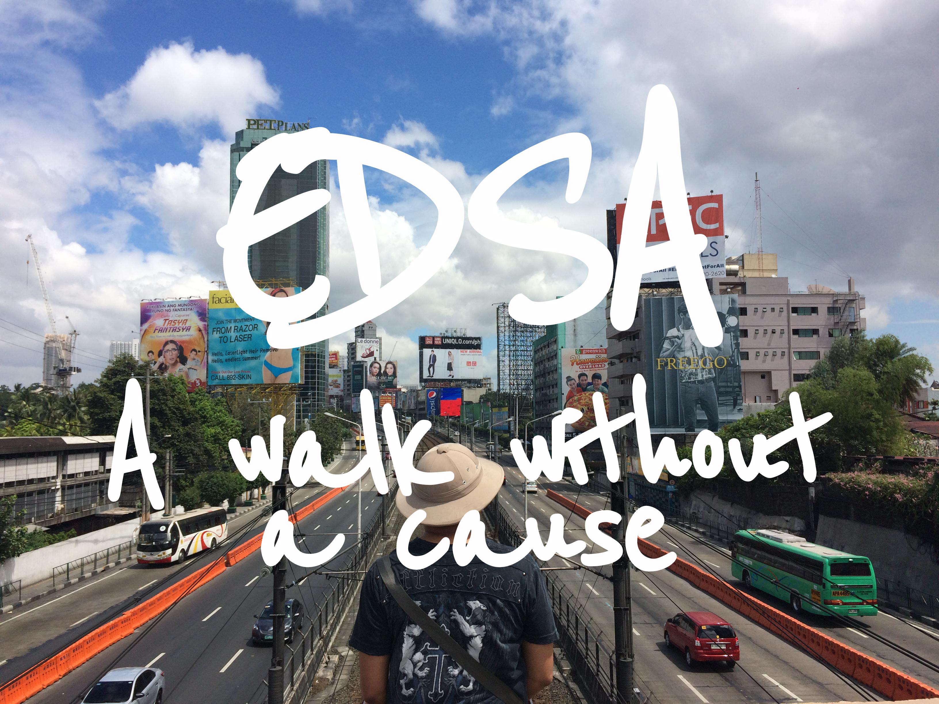 EDSA - Epifanio de los Santos Avenue