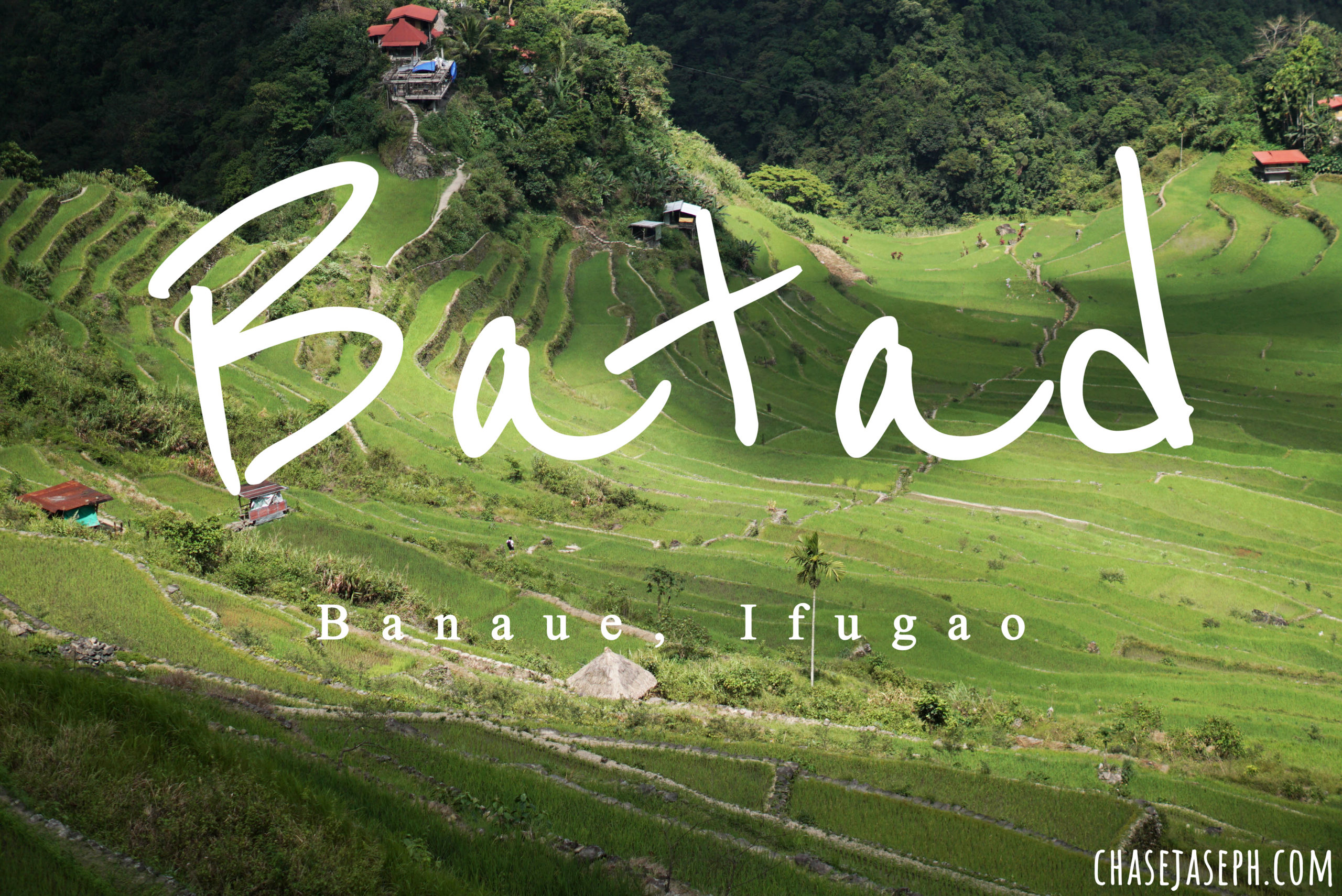 Batad Rice Terraces in Banaue, Ifugao (Travel Guide)